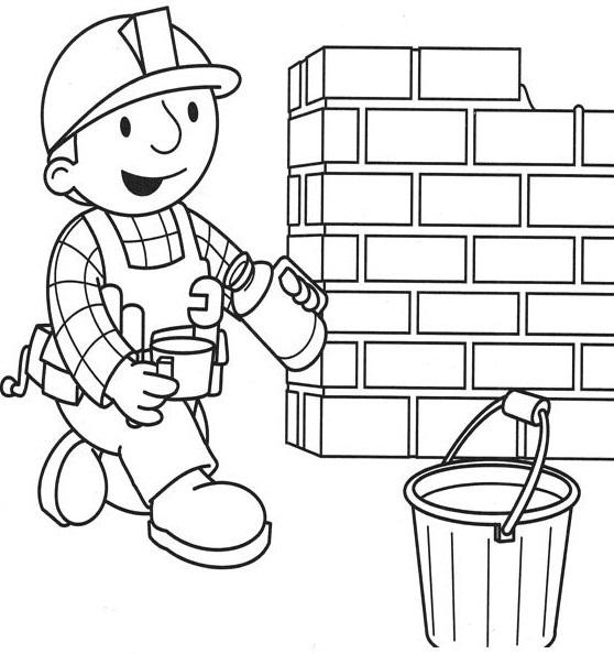 Colorir O Bob O Construtor