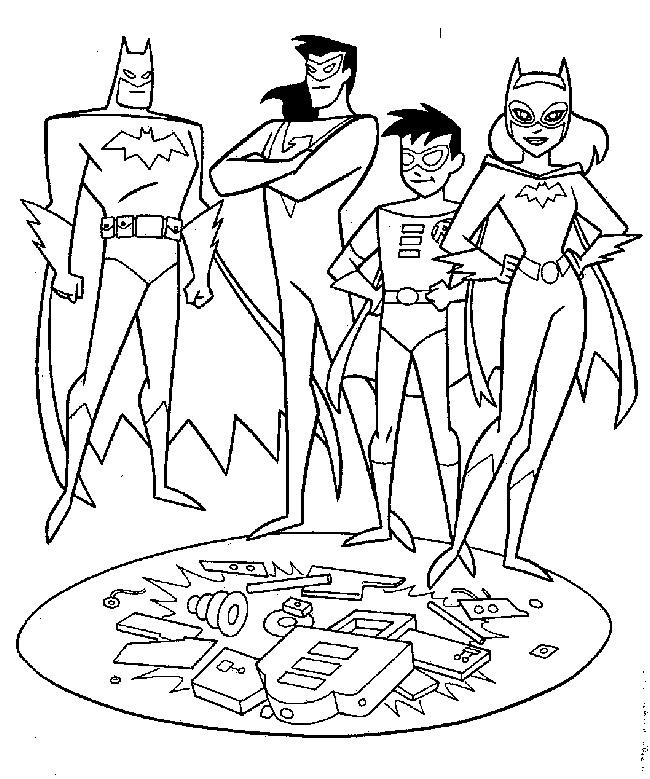 Colorir O Batman Desenho Para Colorir