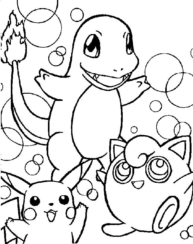 Colorir O Pokemon Desenho Para Colorir