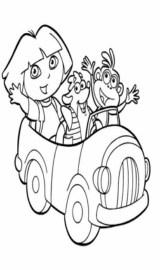 Colorir a Dora a Exploradora
