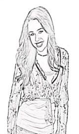 Colorir a Hannah Montana