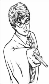 Colorir o Harry Potter